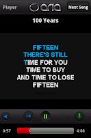 Screenshot of ARIA Karaoke