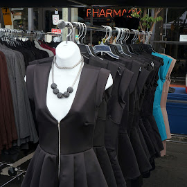 Street Fair Dress Display by Marilyn Casson - Artistic Objects Clothing & Accessories