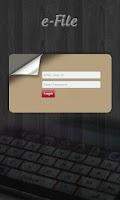 Screenshot of Government eFile Odisha