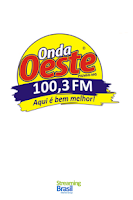 Screenshot of Rádio Onda Oeste FM