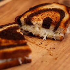 Grilled Cheese Sandwiches with Sauerkraut on Rye
