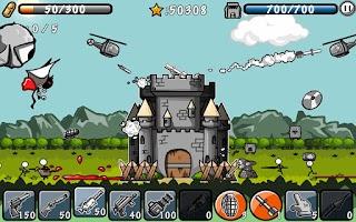 Screenshot of Cartoon Defense