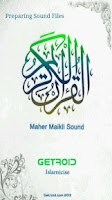 Screenshot of Holy Quran - Maher Maikli