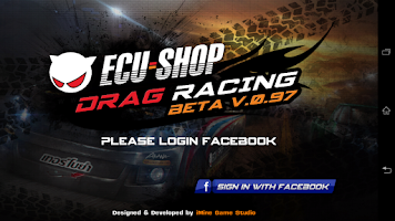 Screenshot of ECU=SHOP Drag Game Lite