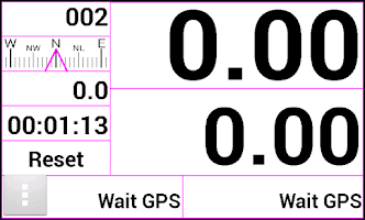Screenshot of Gpstrip
