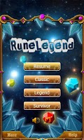 Screenshot of Jewels World : Rune Legend
