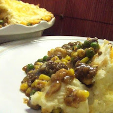 V's Kicked-Up Shepherd's Pie