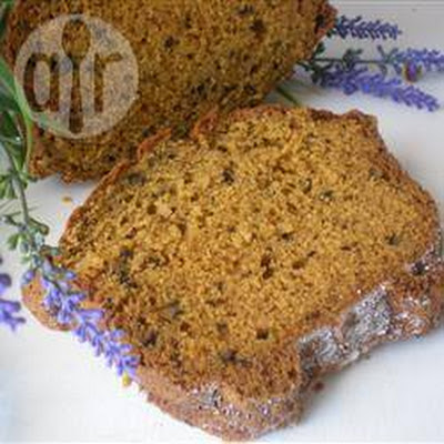 Pumpkin and Walnut Bread