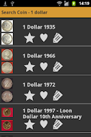 Screenshot of Canadian Coins
