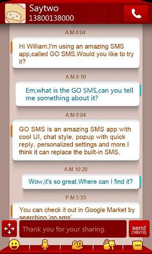 GO短信短信盒子主题