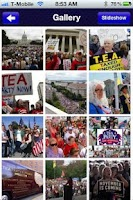 Screenshot of The Tea Party