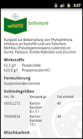 Screenshot of Krankheiten Schweiz