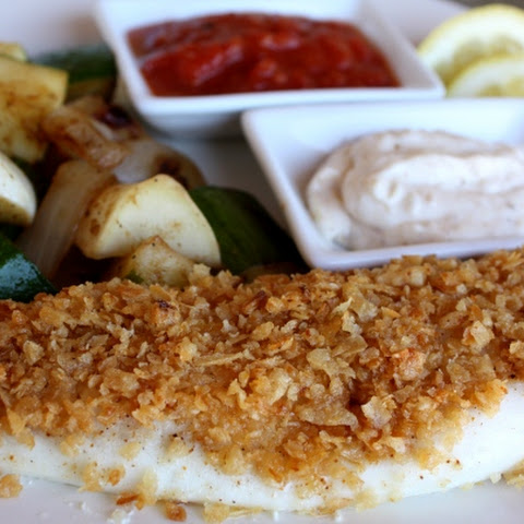 Onion Crusted Tilapia