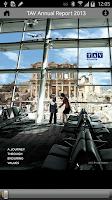Screenshot of TAV Annual Report