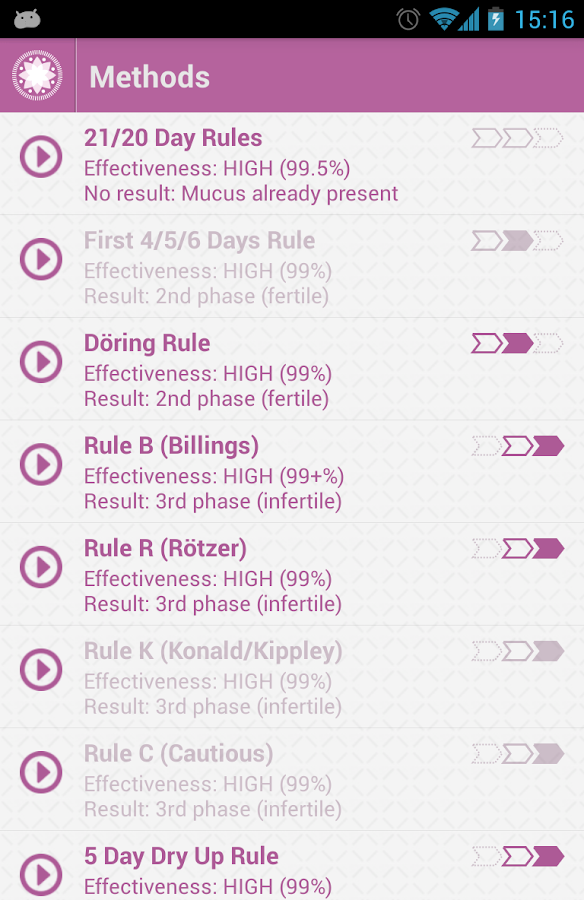 OvuView: Ovulation & Fertility Screenshot 4