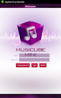 Screenshot of Musicube Mini