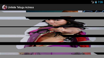 Screenshot of Unhide Telugu Actress