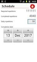 Screenshot of Meditation Tracker