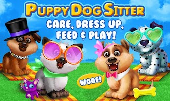 Screenshot of Puppy Dog Dress Up & Care