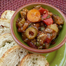 Caponata from Loni Kuhn's S.f. Cooking Class