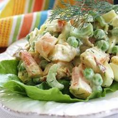Shrimp Egg Salad
