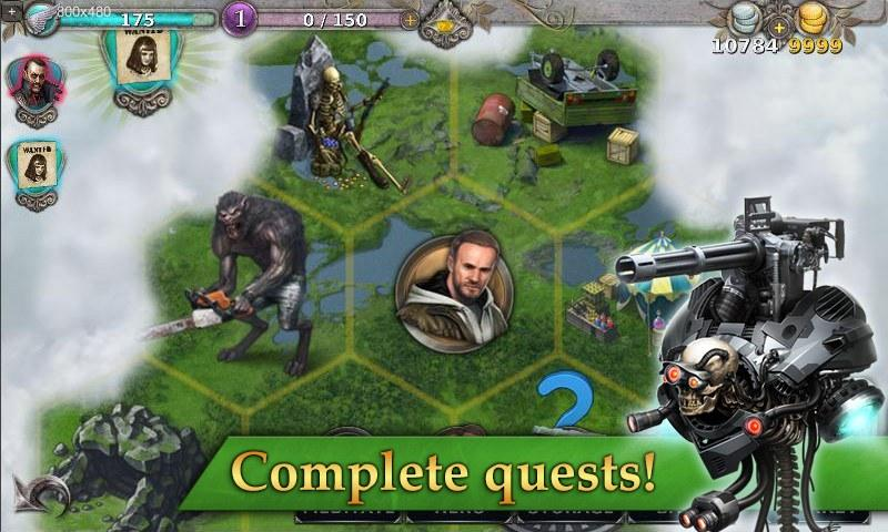 Gunspell - Match 3 Battles Screenshot 3