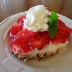 Makeover Strawberry Pretzel Dessert