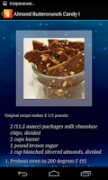 Screenshot of Candy Recipes