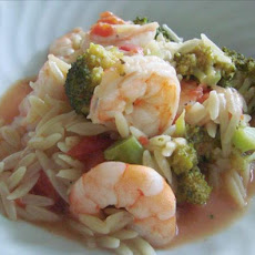 Orzo Shrimp Stew