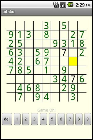 Androku - Sudoku for Android