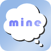 App mine - 私だけのひとりごとつぶやきメモ - version 2015 APK