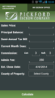 Screenshot of Pickford Escrow