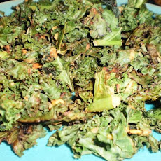 Spicy Thai Ginger Kale Chips