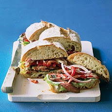 Hanger Steak Sandwiches with Chile-Lime Mayo