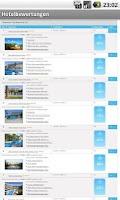 Screenshot of Hotelbewertungen
