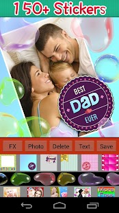 Father's Day Frames - screenshot