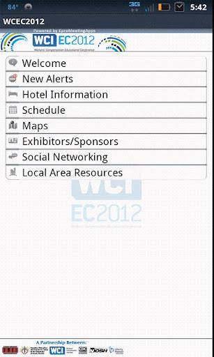 WCEC2012