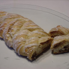 Freezer Braided Nut Roll (Coffee Cake)