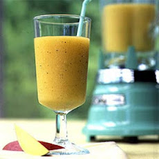 Mango-Mint-Rum Slush