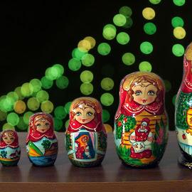 Russian Doll Bokeh by Deep Sankar Ghosh - Artistic Objects Toys