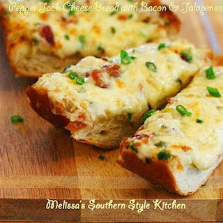Pepper Jack Cheese Bread with Bacon & Jalapenos