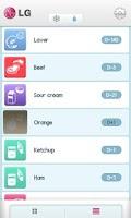 Screenshot of Мой Холодильник LG
