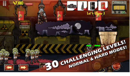 Zombie Smasher Defense Free - screenshot