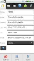Screenshot of MobAgile Força de Vendas