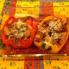 Stuffed Peppers Italian Style