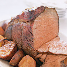 Chili-Rubbed Roast Beef