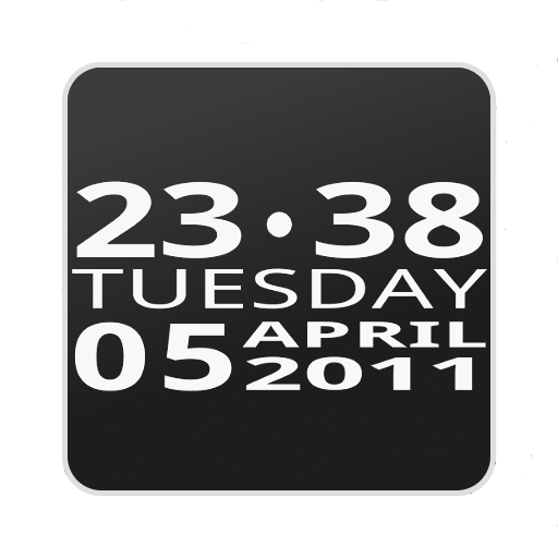 Bigger Clock Widget 個人化 App LOGO-APP試玩