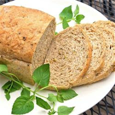 Whole Wheat Zucchini Herb Bread