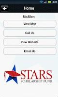 Screenshot of STARS