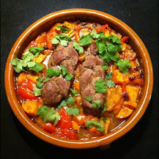 Delhi-Style Lamb With Potatoes